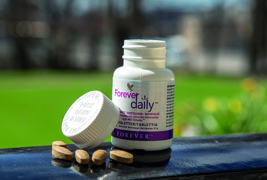One Forever Daily a day provides both vitamins and minerals