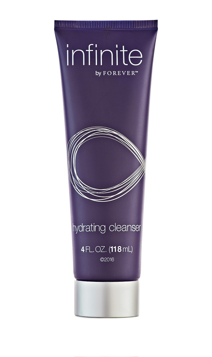 Infinite by Forever hydrating cleanser is a fragrance-free cleanser with Aloe vera that hydrates the skin.