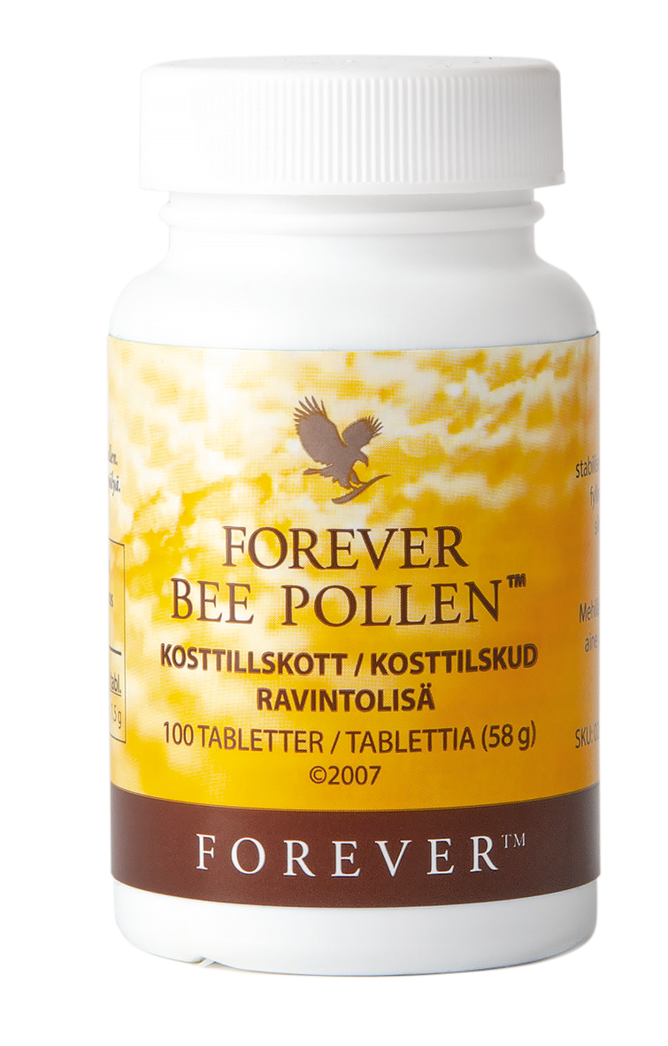 Forever Bee Pollen is an important source of protein for the bee community, and a popular dietary supplement for active humans.