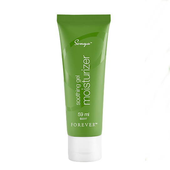 Sonya soothing gel moisturizer is a conditioning moisturizing cream focusing on younger skin. Contains natural plant extracts that sinks into the skin.